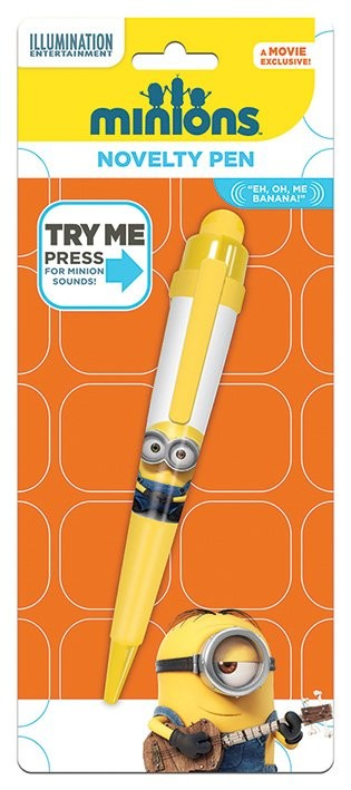 Papelaria Minions - Movie Novelty Pen