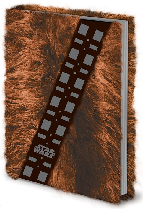 Papelaria Star Wars - Chewbacca Fur Premium A5 Notebook