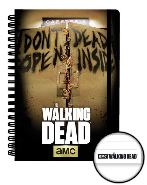 Papelaria The Walking Dead - Dead Inside A5 Notebook