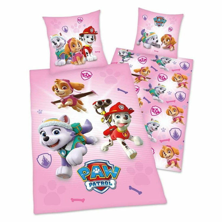 Bed sheets Paw Patrol - Team
