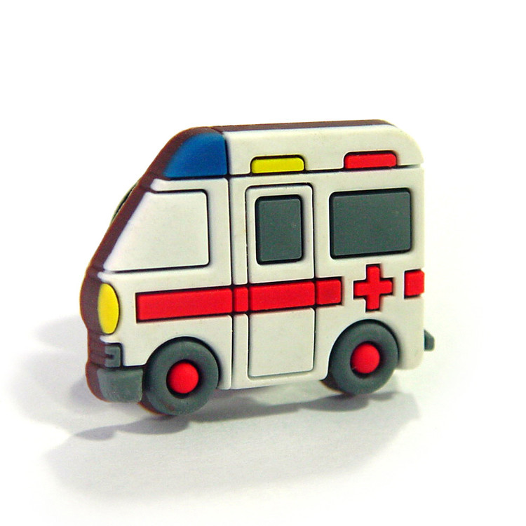AMBULANCIA - auto Pins para sapatos