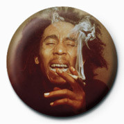 Pins BOB MARLEY - laugh