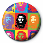Pins CHE GUEVARA - pop art