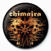 Pins Chimaira (Double Skull)