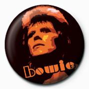 Pins David Bowie (Orange)