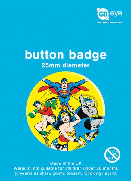 Pins DC Comics - Heroes