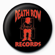 Pins Death Row (Red Logo)