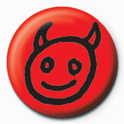 Pins Devil Face