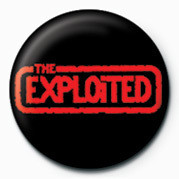 Pins EXPLOITED (RED LOGO)