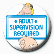 Pins Family Guy (Adult Supervis