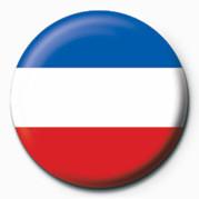 Pins Flag - Sebia & Montenegro