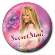 Pins HANNAH MONTANA - Secret Star