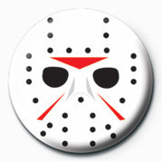 Pins Hockey Mask