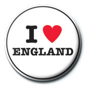 Pins I Love England