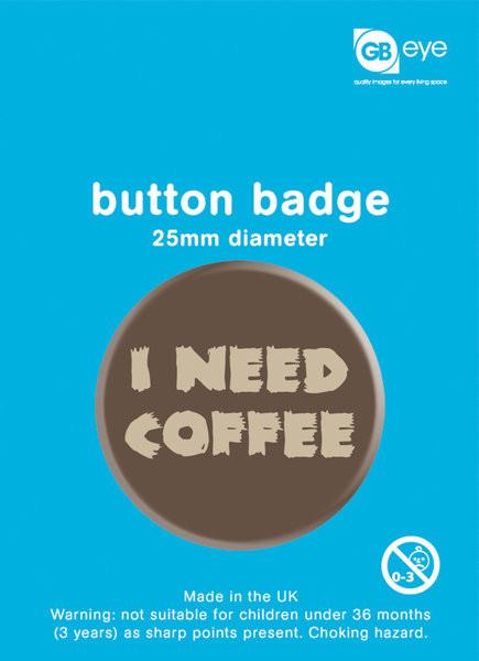 Pins I Need Coffee