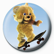 Pins JAMSTER - Brown Bear (Skat