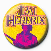 Pins JIMI HENDRIX (GOLD)