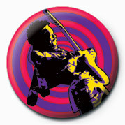 Pins JIMI HENDRIX (PURPLE HAZE)