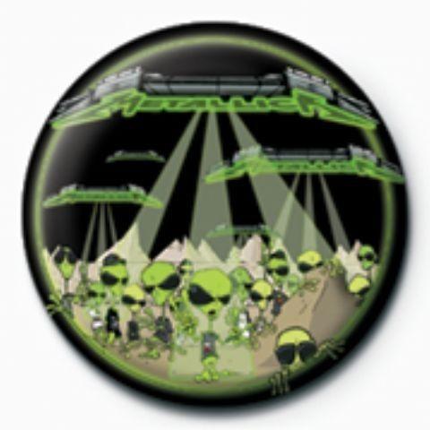 Pins METALLICA - aliens  GB