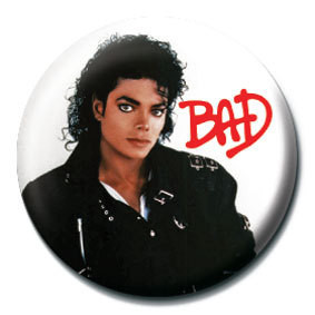 Pins MICHAEL JACKSON - Bad