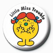 Pins MR MEN (Little Miss Troubl