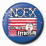 Pins  NOFX - WAR ON ERROISM