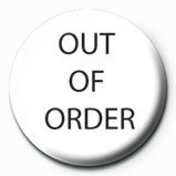 Pins OUT OF ORDER