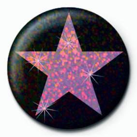 Pins PINK STAR