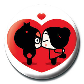 Pins PUCCA - heart
