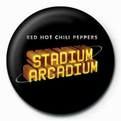 Pins RED HOT CHILI PEPPERS STADIUM