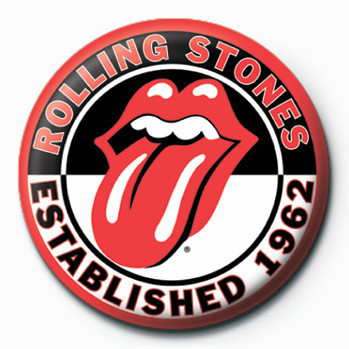 Pins Rolling Stones