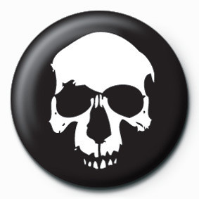 Pins SKULL (BLACK)