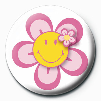 Pins Smiley (Flower)