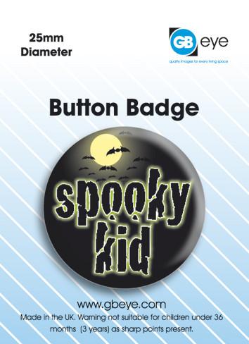 Pins Spooky Kid