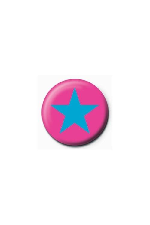 Pins STAR - pink/blue