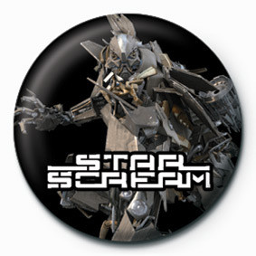 Pins TRANSFORMERS - star scream