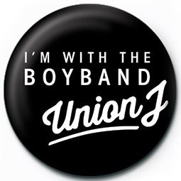 Pins UNION J - i'm with the boyband