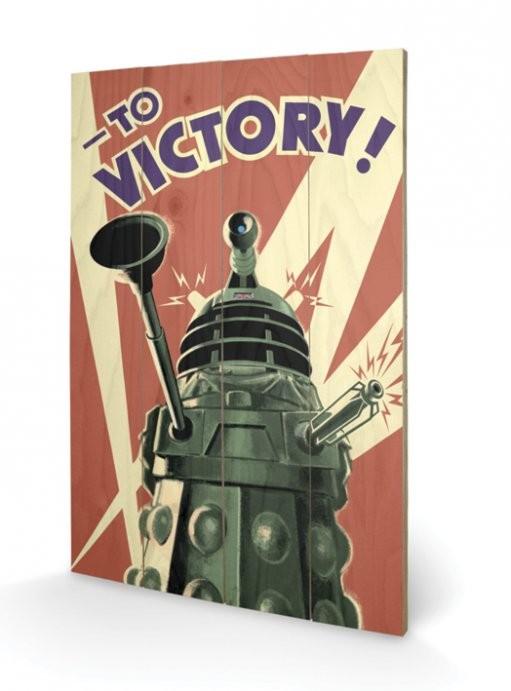 Pintura em madeira Doctor Who - Victory