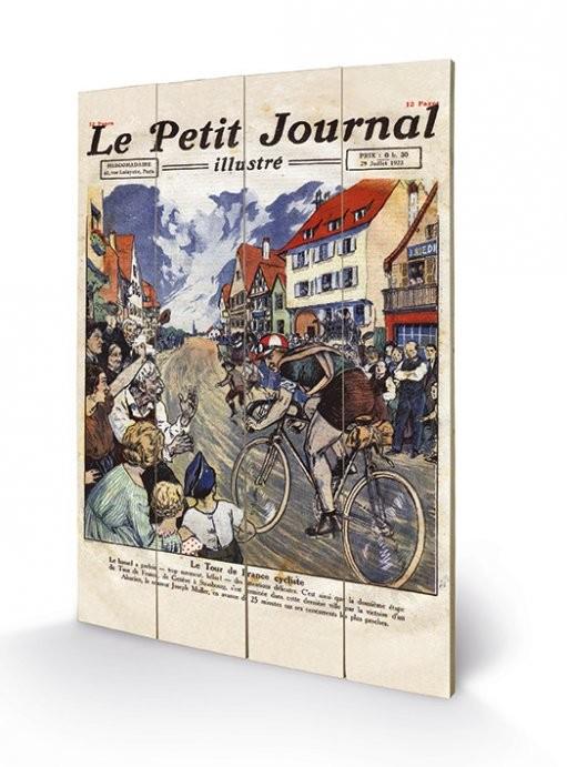 Pintura em madeira Le Tour de France - Le Petit Journal
