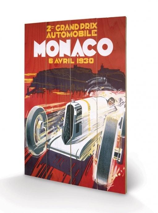 Pintura em madeira Monaco - 1930