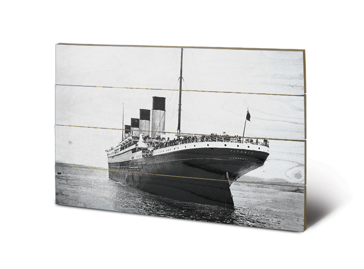 Pintura em madeira Titanic - New Promenades