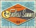 Placa de metal GENUINE ENDLESS SUMMER