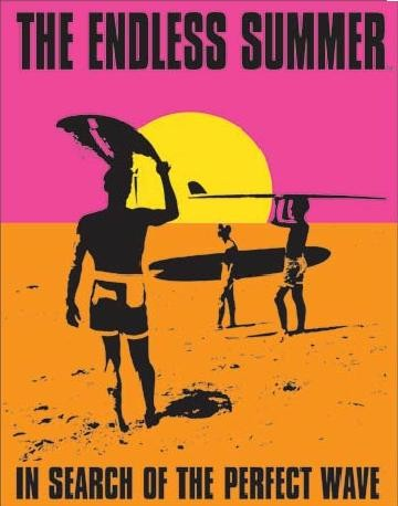 Placa metálica THE ENDLESS SUMMER - In Search Of The Perfect Wave