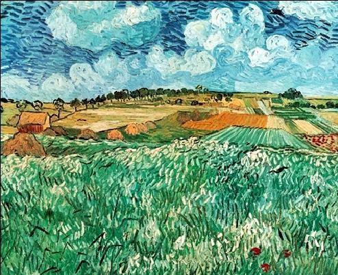 Plain near Avers, 1890 Reproduction d'art