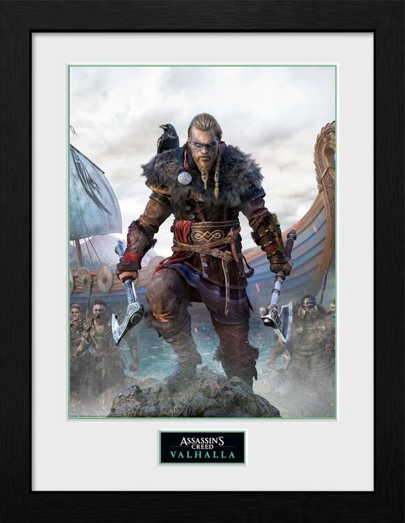 Framed poster Assassin's Creed: Valhalla - Standard Edition