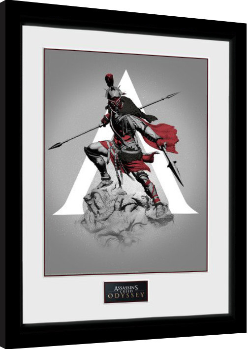 Assassins Creed Odyssey - Graphic Framed poster