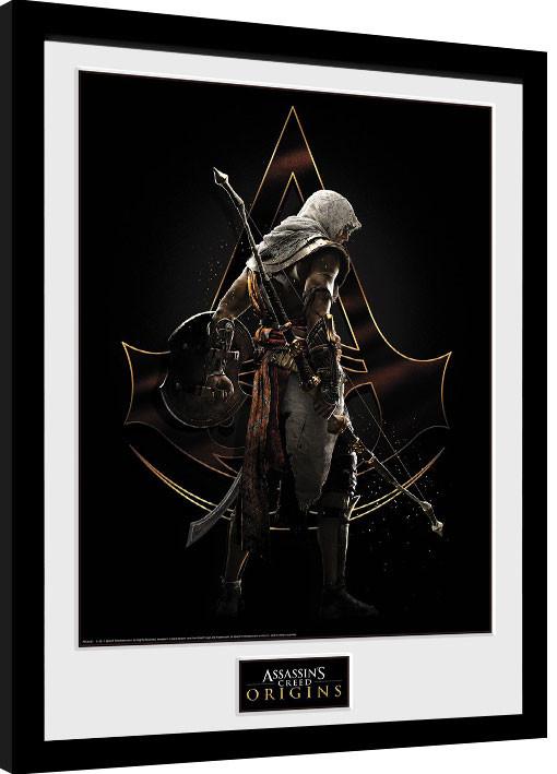 Framed poster Assassins Creed: Origins - Assassin