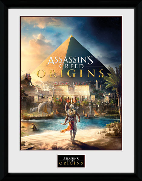 Assassins Creed: Origins - Cover Framed poster
