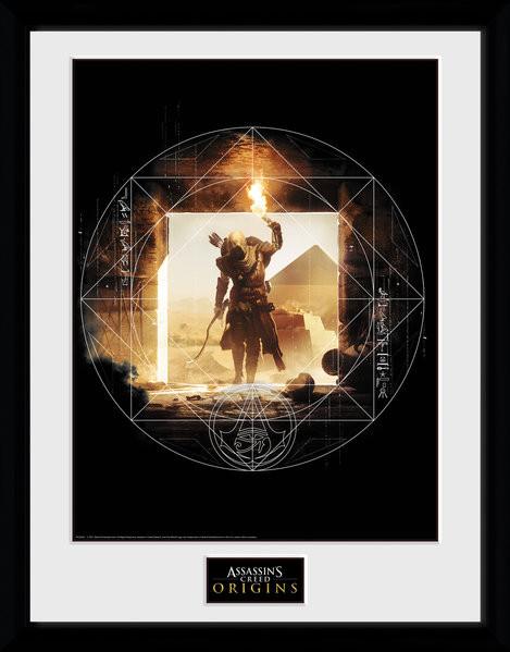 Assassins Creed: Origins - Wanderer Framed poster