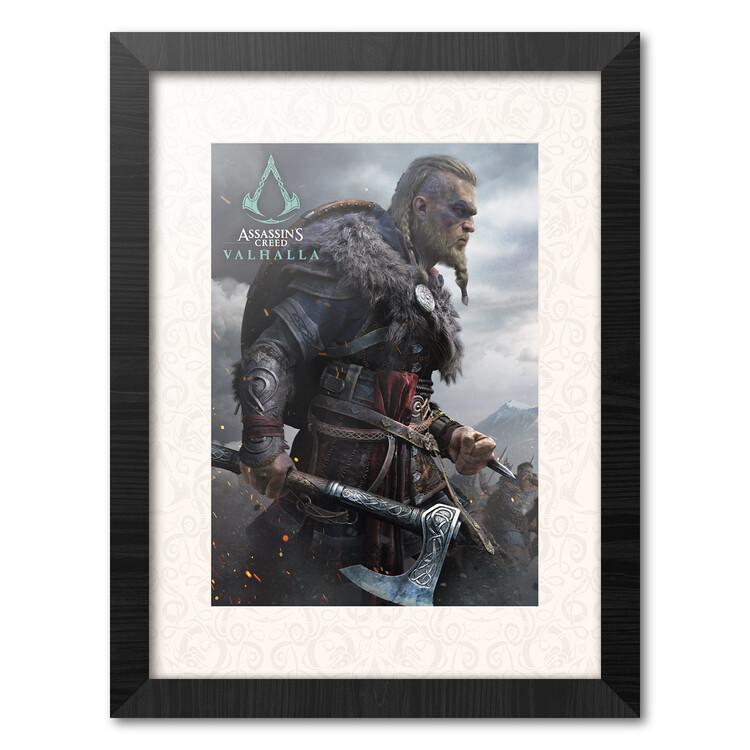 Framed poster Assassins Creed: Valhalla